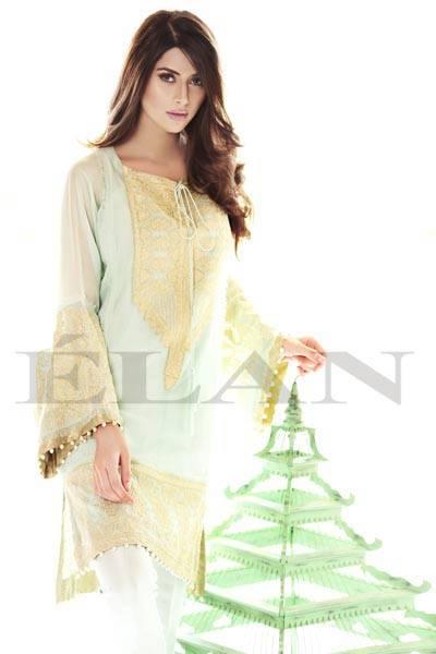 Elan Fashion Winter Dresses Collection 2013 For Ladies (2)