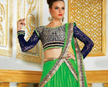 Hot Indian Natasha Anarkali Suits and Blouse Neck Designs Collection 2013 (7)