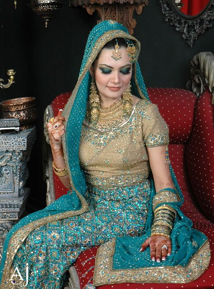 Pakistani Bridal Dresses Lehanga 2013