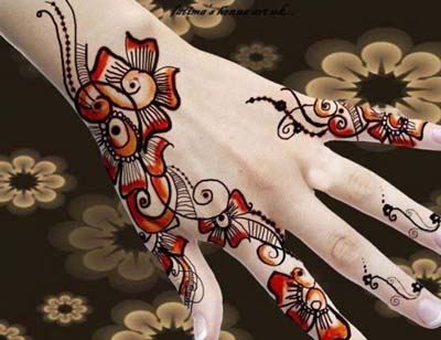 Mehndi Designs 2014 - 2013 For Girls
