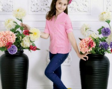 Outfitters Junior Winter Dresses Collection 2013-14 for Kids (1)