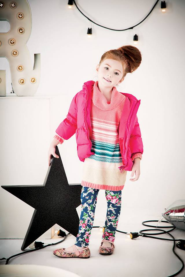 Outfitters Junior Winter Dresses Collection 2013-14 for Kids (2)