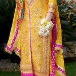 Pakistani Bridal Mehndi Dresses Designs 2013-2014 For Women