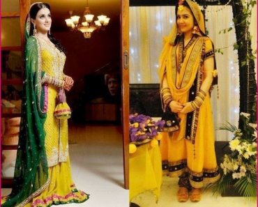 Pakistani Bridal Mehndi Dresses Designs 2013-2014 For Women (7)