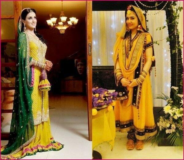 Pakistani Bridal Mehndi Dresses Designs 2013-2014 For Women (7)