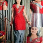 Pakistani Latest Neck Designs for Salwar Kameez 2013-14 For Girls (1)