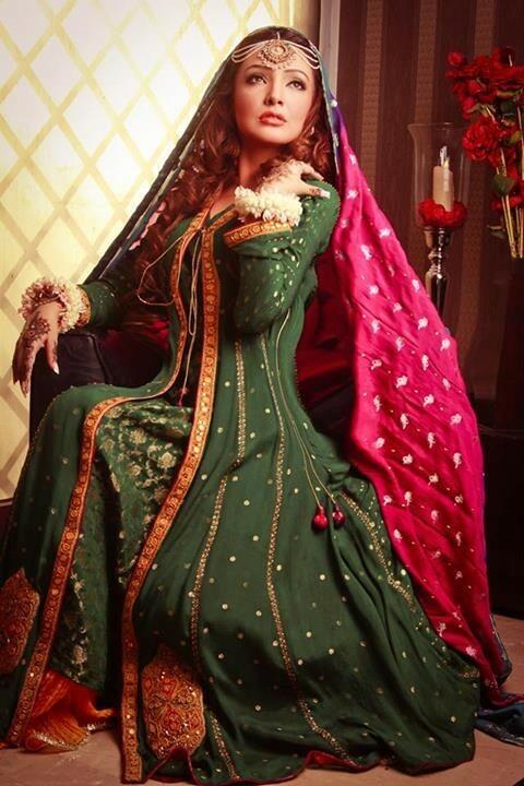 Resham Revaj Exclusive Bridal Dresses 2013 for Wedding Wear (4)