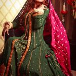 Resham Revaj Latest Bridal Wear Tehwaar Dresses 2013 (1)