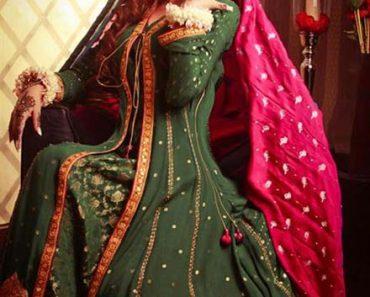 Resham Revaj Latest Bridal Wear Tehwaar Dresses 2013 (1)