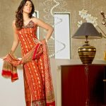 Sahil Embroidered Collection 2013-14 for women by Shariq Textile