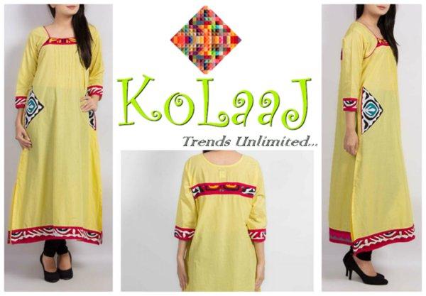 Silhoutte Collection 2013 By Kolaaj - Pakistani Dresses (1)
