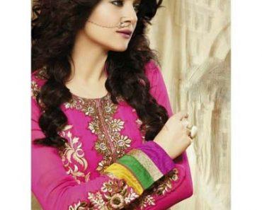 Sushmita Sen Anarkali Party Wear Suits 2013-14 For Women (6)