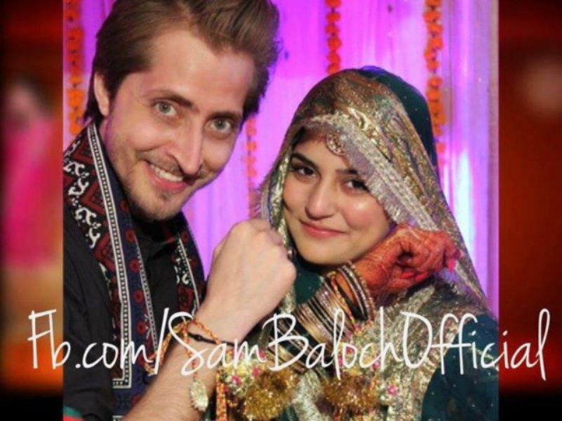 Sanam Baloch and Abdullah Farhatullah Wedding Pics (4)