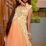 Zunaira's Lounge Latest party Wear Dresses Collection 2013-14 For Winter
