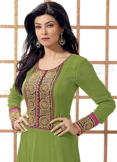 Actress Sushmita Sen's Beautiful Outfits Collection 2013-14 For Girls (8)