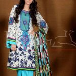 Lala Textiles Afreen Embroidered Winter Dresses 2013-14 for Ladies