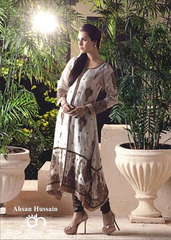 Ahsan Hussain Couture Formal Girls Frocks 2013 Collection (2)