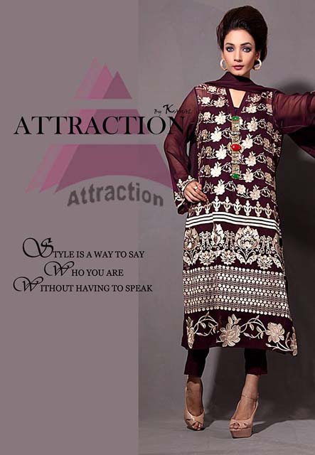 Attraction By Kamal Winter Formal Dresses 2013 2014 For Girls 2