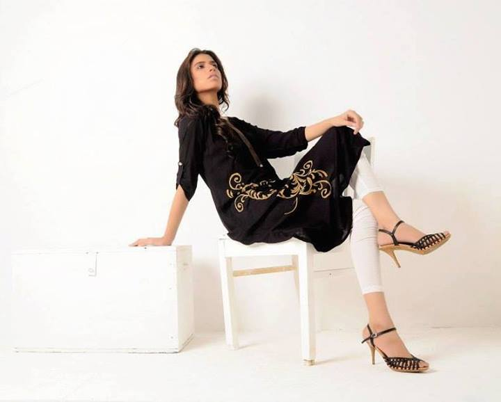 Azleena Faisal Winter Dresses Collection 2013-14 For Women (7)