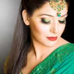 Bridal Latest Beautiful Hairstyles Fashion 2013-2014 For Pakistani Women (9)