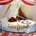 Bridal Room Decoration ideas 2013 flower and lights 015
