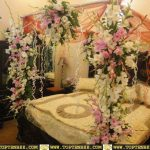 Bridal Room Decoration ideas 2013 flower and lights 004