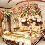 Bridal Room Decoration ideas 2013 flower and lights 007