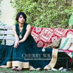 Cherry Wrap Beautiful Winter Dresses Collection 2013-14 For Women