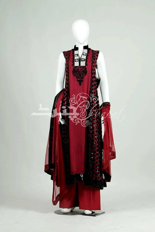Chunnat Latest Formal Wear Dresses 2013-14 For Ladies (3)