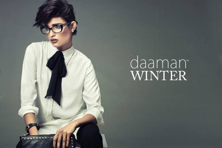 Daaman college wear Winter Casual Outfits 2013-2014 for Girls