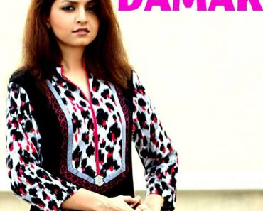 Damak Stylish Winter Dresses Collection 2013-14 For Women (2)