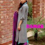 Damak Stylish Winter Dresses Collection 2013-14 For Women