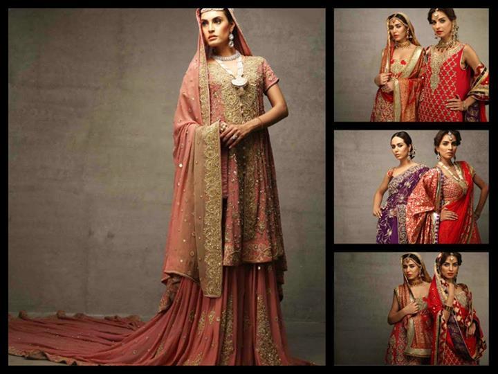 Deepak Perwani Bridal Dresses Collection 2013-14