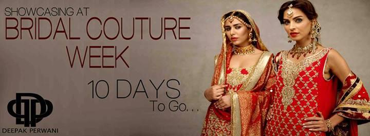 Deepak Perwani Bridal Dresses 2013-14 for Women