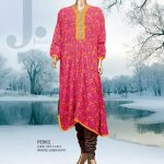 Designer Junaid Jamshed Winter Kurti Collection 2013-14 for Girls