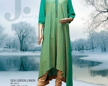 Designer Junaid Jamshed Winter Kurti Collection 2013-14 for Girls (6)