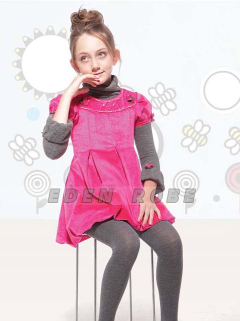 Eden Robe Winter Kids Dresses 2013-2014 For Party Wear (2)