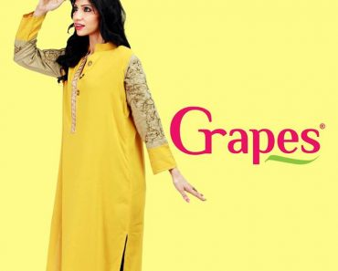 Grapes The Brand Stylish Winter Dresses Collection 2013-2014 For Women (3)