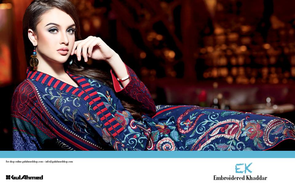 Gul Ahmed Fall Winter Collection 2013 for Women Volume 2 (1)