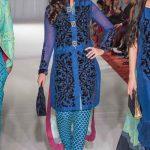 Gul Ahmed Fashion Week 2013-14 Formal Wear Winter Dress For Women (8)