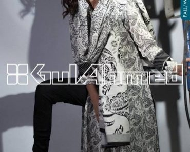 Gul Ahmed Latest Winter Dress Collection 2013-2014 Volume 2 for Women 22007