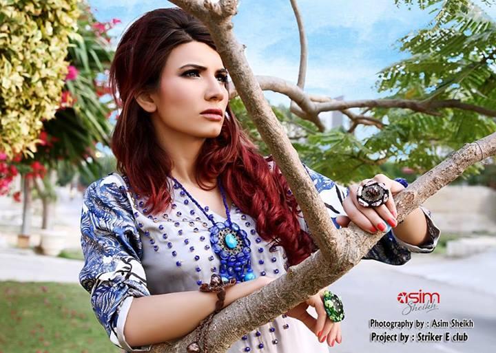 Hajra Esa Latest Kurti Fashion Deisgner Dress 2013-14 For Ladies (9)