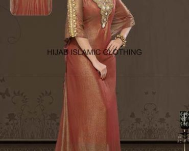 Hijab Islamic Clothing Latest Pakistani Formal Wear 2014 For Women (6)