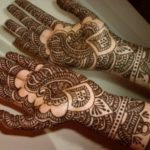 Indian and Pakistani Bridal Mehndi Designs 2014 For Parties (6)