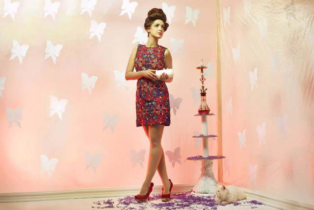 Ishtiq Afzal Birthday Autumn Collection 2013 For Girls (2)