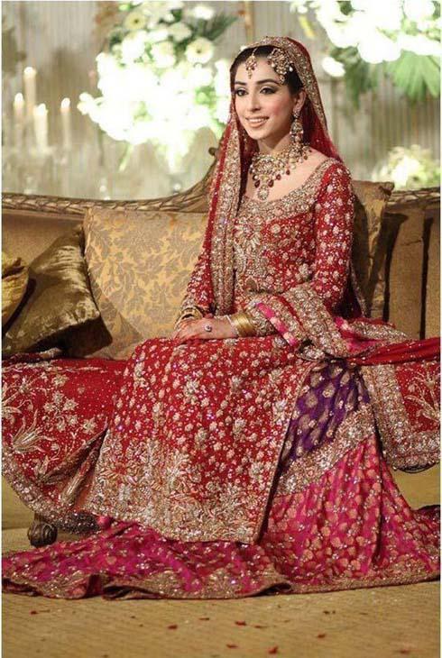 Latest Pakistani Bridal Lehanga Dresses 2013-2014 For Women (8)