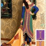 Latest Printed Linen Dresses For Girls By Bashir Ahmad