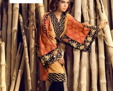 Maheen Karim Fashionable Winter Dresses 2013-2014 By Bonanza
