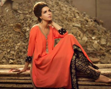 Maheen Karim Fashionable Winter Dresses 2013-2014 By Bonanza