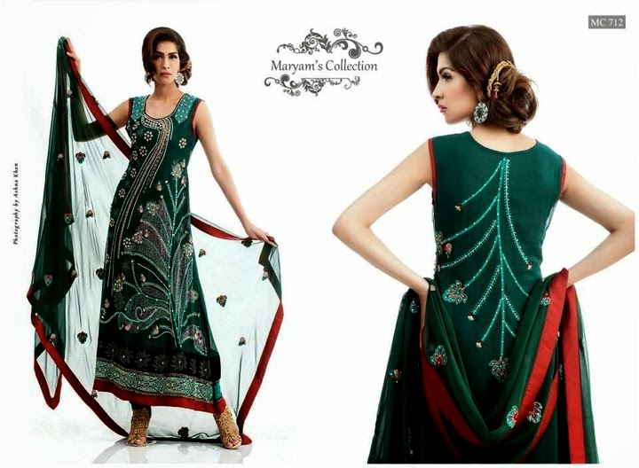 Maryam Stylish Wedding Dress Collection 2013-14 for Women (4)